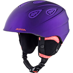 Alpina Grap 2.0 L.E. Ski Helmet royal-purple matt